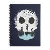 Bye Bye Apocalypse - spiral-notebook - small view