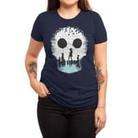 Bye Bye Apocalypse - womens-triblend-tee - small view