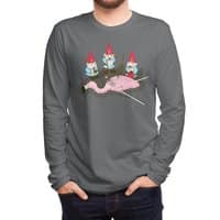 Demise of Mr. Flamingo - mens-long-sleeve-tee - small view