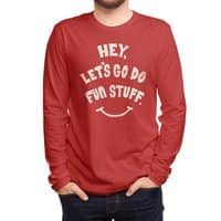 Hey, Let's Go Do Fun Stuff! - mens-long-sleeve-tee - small view