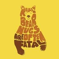 Real bear hugs are often fatal. - small view
