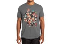 Ninjas vs Luchadores - mens-extra-soft-tee - small view