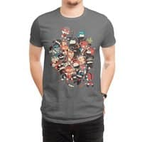 Ninjas vs Luchadores - mens-regular-tee - small view