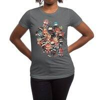 Ninjas vs Luchadores - womens-regular-tee - small view