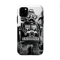 Mr. Roboto Goes Sightseeing - double-duty-phone-case - small view