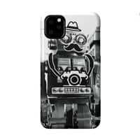Mr. Roboto Goes Sightseeing - perfect-fit-phone-case - small view