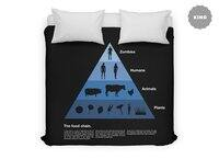 The Food Chain - duvet-cover - small view