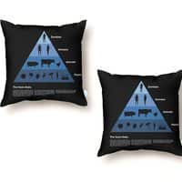The Food Chain - throw-pillow - small view