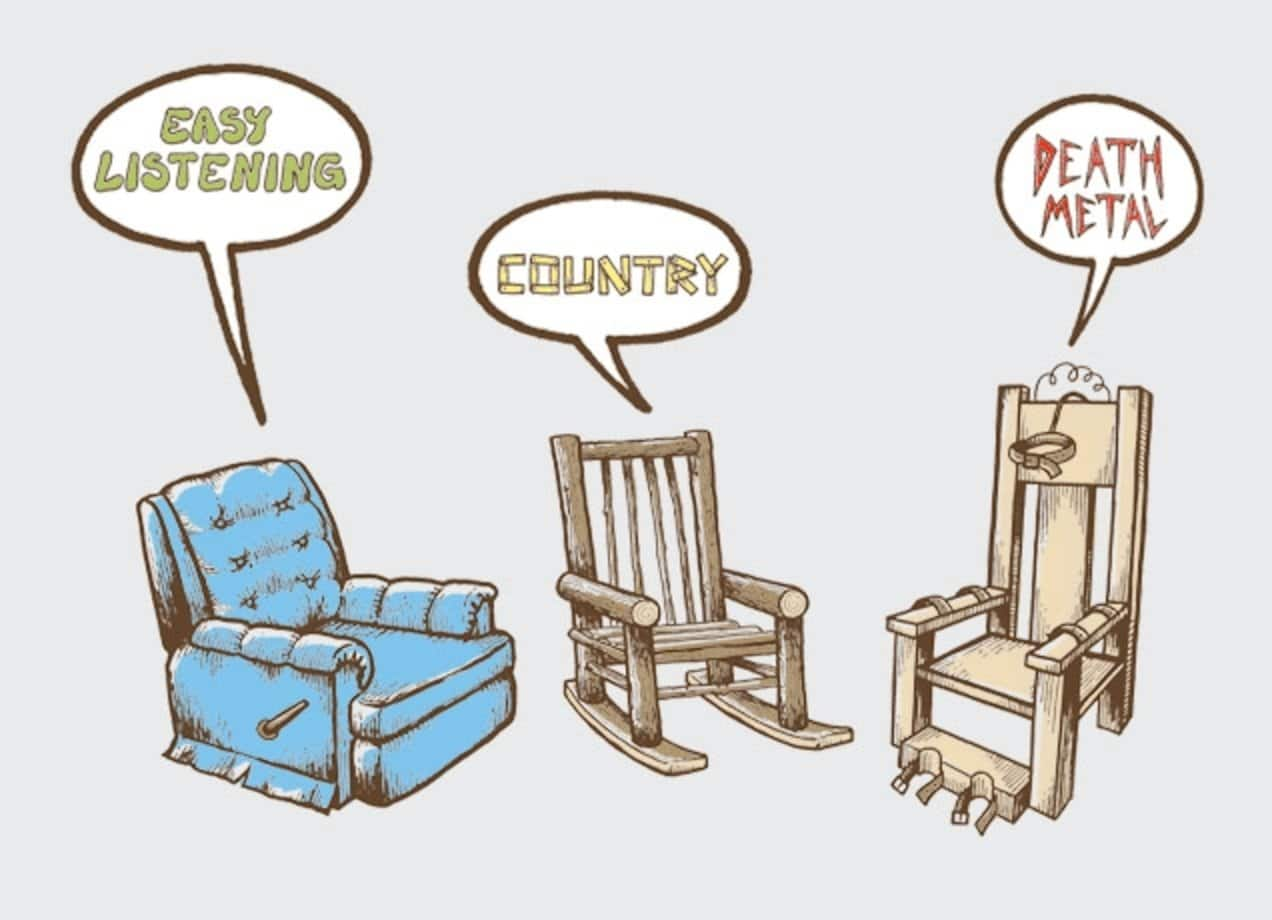 Musical chairs by chris sharron threadless for Chaise musicale