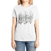 Larry the Fox Doesn't Feel So Clever Anymore. - womens-extra-soft-tee - small view