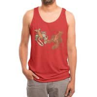 The Crayfish Crush - mens-triblend-tank - small view