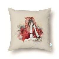RED - throw-pillow - small view