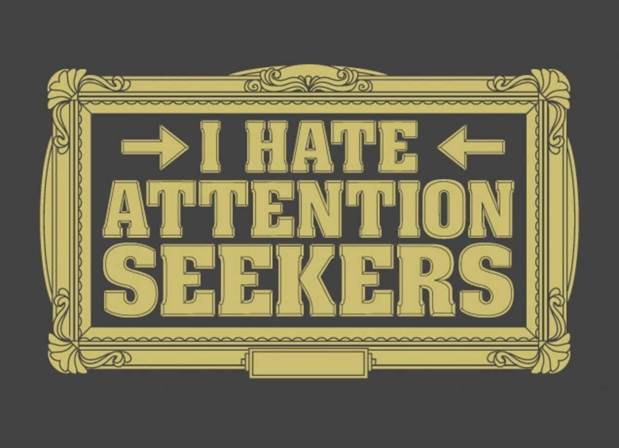 I Hate Attention Seekers Quotes: I Hate Attention Seekers By Evan Ferstenfeld
