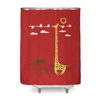 I'm Like a Bird! - shower-curtain - small view