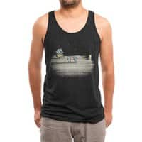 Not As Far As You Think - mens-triblend-tank - small view