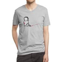 Sad Psycho - vneck - small view