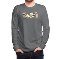 Eggs, Milk and... - mens-long-sleeve-tee - small view