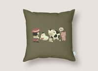 Eggs, Milk and... - throw-pillow - small view
