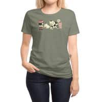 Eggs, Milk and... - womens-regular-tee - small view