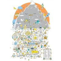 Map of Mt. Sato Land! - small view