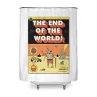 The End Of The World - shower-curtain - small view