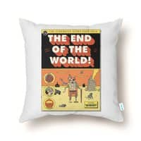 The End Of The World - throw-pillow - small view