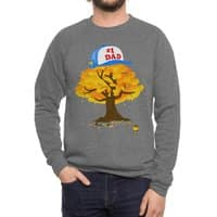 Father Grows Best! - crew-sweatshirt - small view