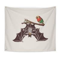 Bat & Rob - indoor-wall-tapestry - small view