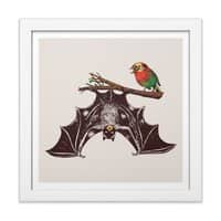 Bat & Rob - white-square-framed-print - small view