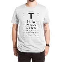 The Meaning of Life - mens-extra-soft-tee - small view