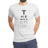 The Meaning of Life - mens-triblend-tee - small view