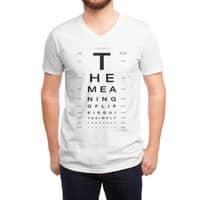 The Meaning of Life - vneck - small view