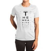The Meaning of Life - womens-extra-soft-tee - small view