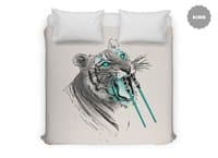 Saber-toothed Tiger - duvet-cover - small view
