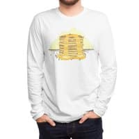 Pancakes Mountain - mens-long-sleeve-tee - small view
