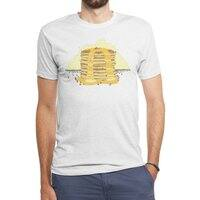 Pancakes Mountain - mens-triblend-tee - small view