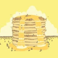 Pancakes Mountain - small view