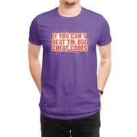 If you can't beat 'em, use cheat codes - mens-regular-tee - small view