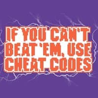 If you can't beat 'em, use cheat codes - small view