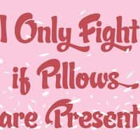 I only fight if pillows are present. - small view