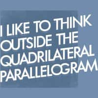 I like to think outside the quadrilateral parallelogram - small view