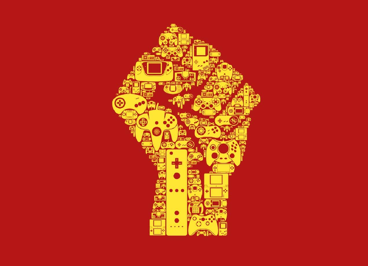 The Gaming Revolution By Sean Mort Threadless