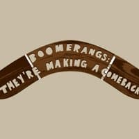Boomerangs: They're making a comeback - small view