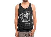 Captain Awesome - mens-triblend-tank - small view