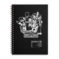 Captain Awesome - spiral-notebook - small view