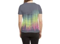 Electric Sky - womens-sublimated-triblend-tee - small view