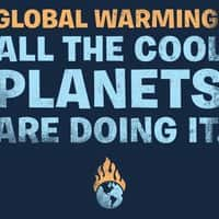 Global warming: All the cool planets are doing it. - small view
