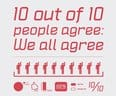 10 out of 10 people agree: We all agree - small view