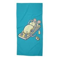 Let's Get Physical - beach-towel - small view