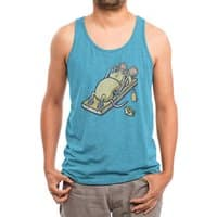 Let's Get Physical - mens-triblend-tank - small view